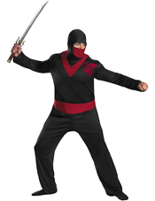 Ninja Warrior Plus Adult Costume