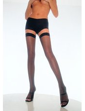 Nylon Fishnet Thigh Highs Leg Avenue