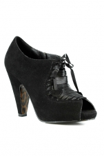 O'Day 3 Inch Velvet Ankle Bootie Ellie Shoes
