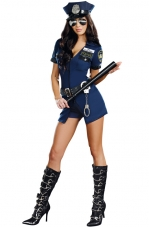 Officer Sheila B. Naughty Cop Costume