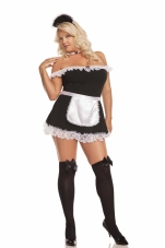 Opaque Thigh Hi with Satin Bow Elegant Moments