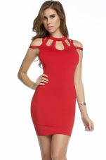 Passion Triple Keyhole Dress Forplay