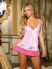 Pink-A-Boo Lace Chemise