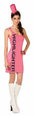 Pink Highlighter Adult Costume Buy Seasons