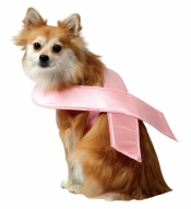 Pink Ribbon Pet Costume Rasta Imposta