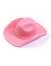 Pink Sequin Cowboy Hat Fun World