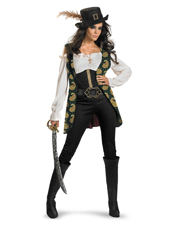 Pirates Of The Caribbean Angelica Costume