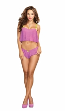 Pleated Camisole Set Dreamgirl