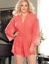 Plus Size Awaken Desires Robe Set Dreamgirl