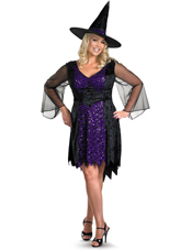 Plus Size Brilliantly Bewitched Costume Disguise