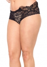 Plus Size Butterfly Tanga Leg Avenue