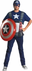 Plus Size Captain America Costume Kit