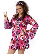 Plus Size Feelin' Groovy Costume Fun World