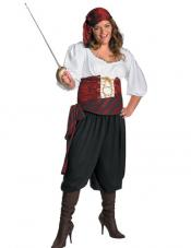 Plus Size First Mate Costume Disguise