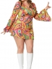 Plus Size Hippie Chick Costume