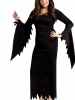 Plus Size Hooded Gown Adult Costume Fun World