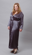 Plus Size Long Robe Vx Intimate Lingerie