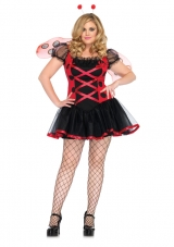 Plus Size Lovely Ladybug Costume Leg Avenue