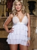 Plus Size Lover's Bliss Tiered Babydoll Dreamgirl