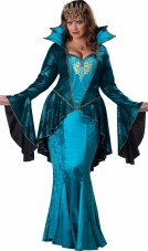 Plus Size Medieval Queen Costume