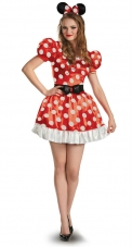 Plus Size Minnie Mouse Classic Costume