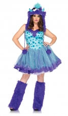Plus Size Polka Dotty Monster Costume