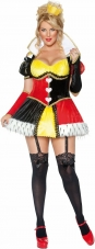 Plus Size Queen of Hearts Costume Smiffys