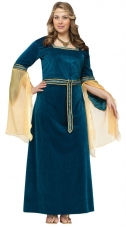 Plus Size Renaissance Princess Costume