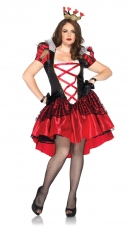 Plus Size Royal Red Queen Costume