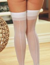 And even Back seam pantyhose sizes clothed