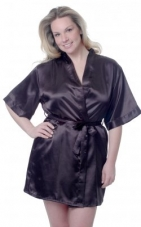Plus Size Short Robe Vx Intimate Lingerie