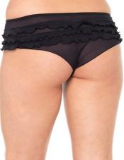Plus Size Tanga Short Leg Avenue