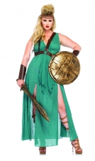 Plus Size Warrior Maiden Costume