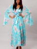 Printed Chiffon Long Robe Vx Intimate Lingerie