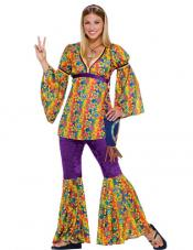 Purple Haze Hippie Costume Forum Novelties