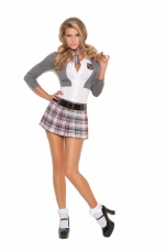 Queen Of Detention 2 Pc Costume