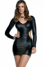 Quinn Matte Cut-Out Mini Dress Forplay