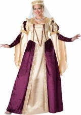 Renaissance Princess Plus Size Adult Costume