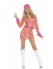 Retro Hippie Costume
