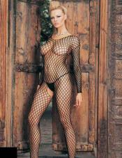 Ring Net Bodystocking