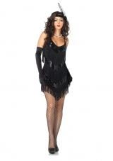 Roaring 20's Honey Costume Leg Avenue