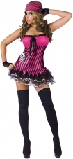 Rockin' Skull Pirate Costume Fun World
