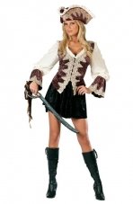 Royal Lady Pirate Costume Fun World