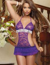 Royal Ruffled Apron Babydoll