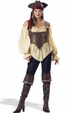 Rustic Pirate Lady Costume InCharacter