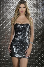 Salerno Strapless Sequin Dress Forplay