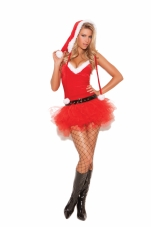 Santa's Sweetie 3 Pc Costume Elegant Moments