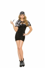 Sassy Detective 3 Pc Costume