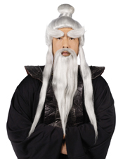 Sensei Wig and Beard Set Fun World