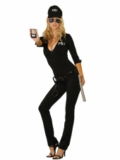Sexy Fbi Agent 7 Pc Costume